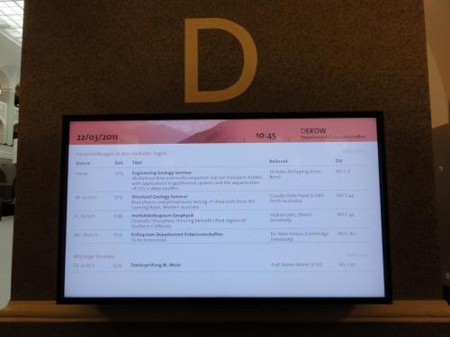 ETHZ digital Signage 1